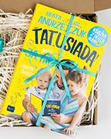 Tatusiada - książka spakowana na prezent