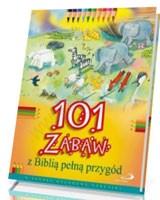 101 zabaw z Biblią pełną przygód - okładka książki