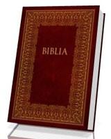 Biblia. Pismo Święte Starego i Nowego Testamentu z soczewką powiększającą