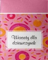 Wersety dla dziewczynek (pudełko) - okładka książki