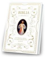 Biblia dowowa z obwolutą. Jezus Miłosierny