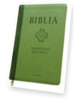 Biblia pierwszego Kościoła z paginatorami (jasnozielona)