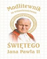 Modlitewnik za wstawiennictwem św. Jana Pawła II 2020 (na komunię-biała)