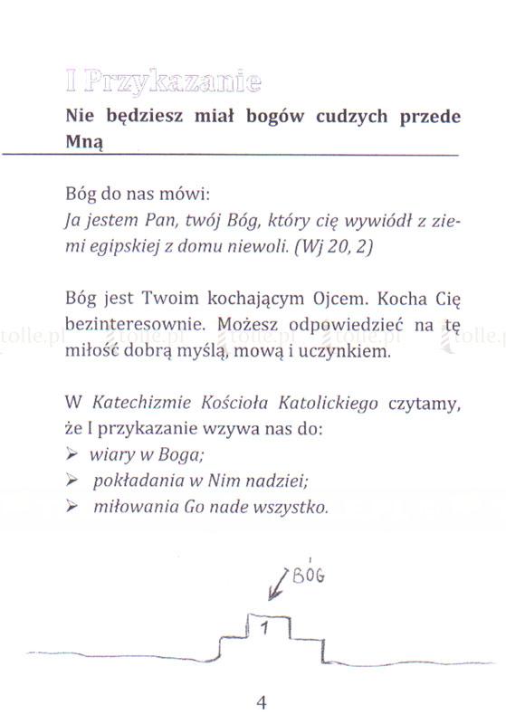 10 przykazań Bożych - rachunek sumienia - Klub Książki Tolle.pl