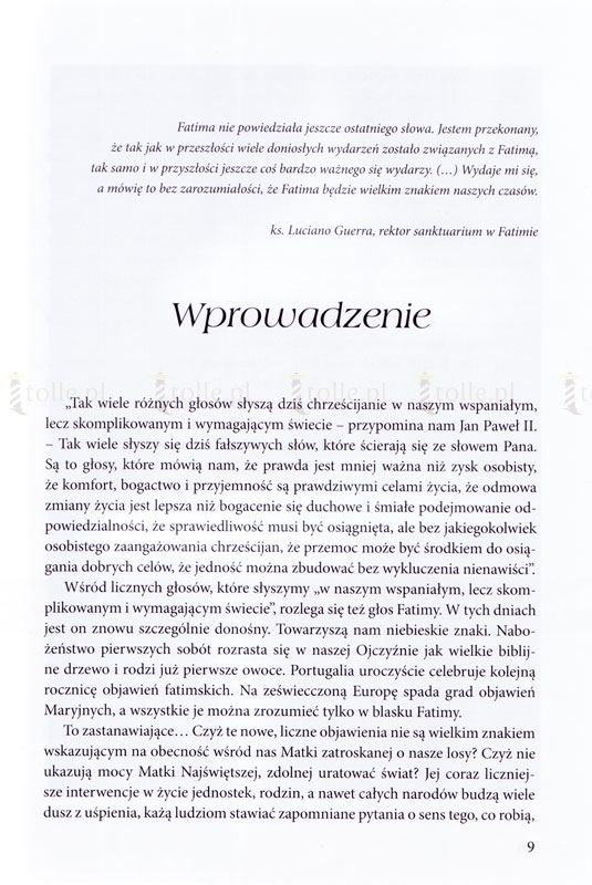7 dni Fatimy - Klub Książki Tolle.pl