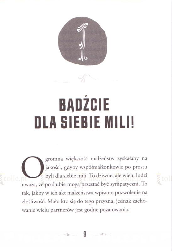 9 małżeńskich porad, a każda warta milion dolarów - Klub Książki Tolle.pl