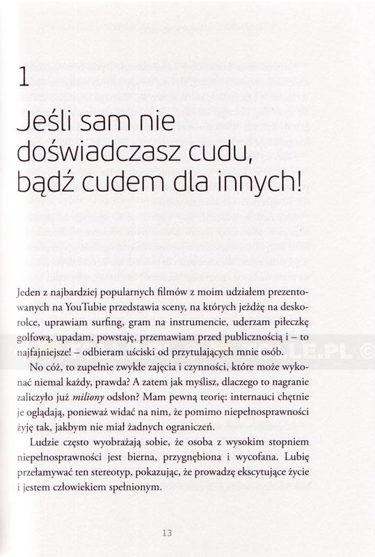 Bez rąk, bez nóg, bez ograniczeń! - Klub Książki Tolle.pl