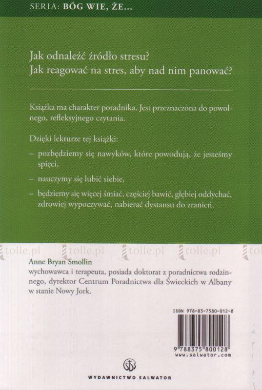 Bóg wie, że jesteś zestresowany - Klub Książki Tolle.pl
