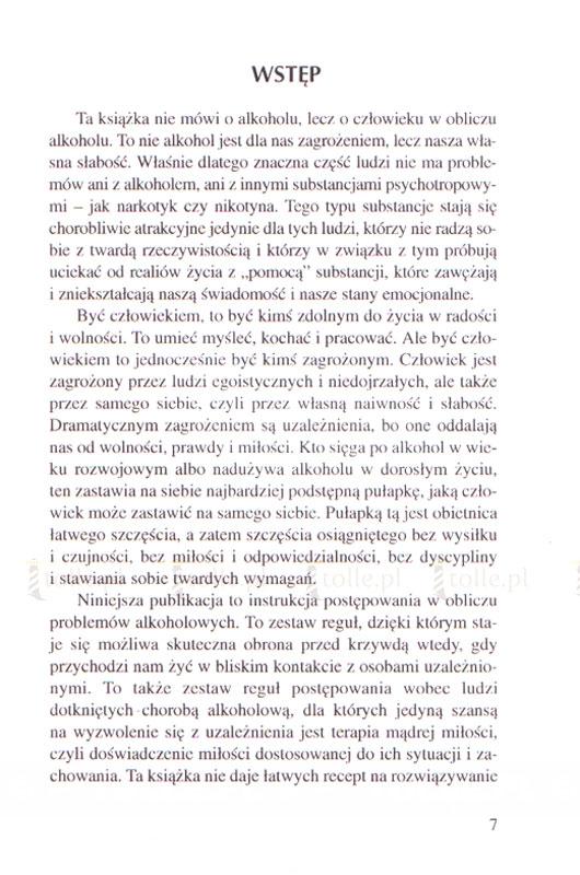 Zagrożeni alkoholem, chronieni miłością - Klub Książki Tolle.pl