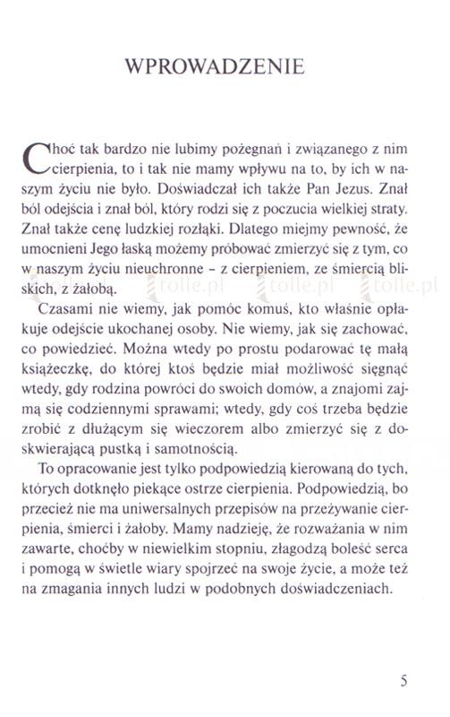 Czas rozstania. Chrześcijańskie przeżywanie żałoby - Klub Książki Tolle.pl