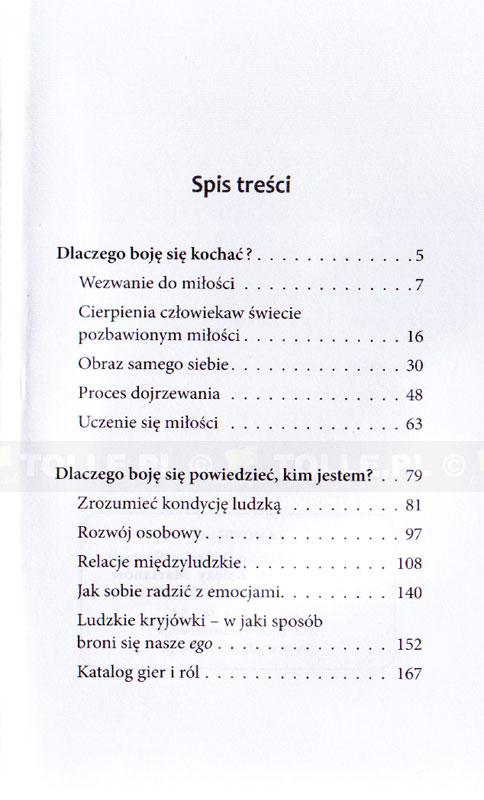 Dlaczego boję się kochać? - Klub Książki Tolle.pl
