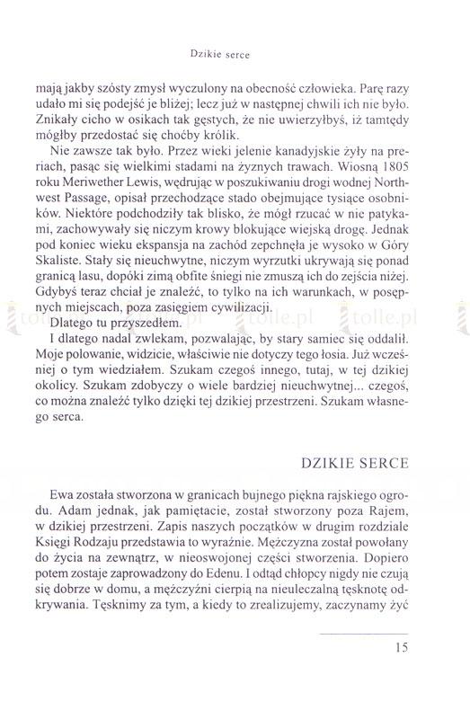 Dzikie serce. Tęsknoty męskiej duszy. Seria: Psychologia i wiara - Klub Książki Tolle.pl