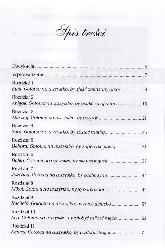 Gotowe na wszystko. Kobiety Starego Testamentu - Klub Książki Tolle.pl
