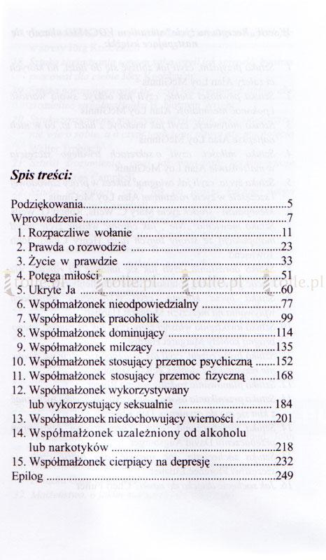Jak ocalić małżeństwo. Rozwiązania, które przynosi miłość - Klub Książki Tolle.pl