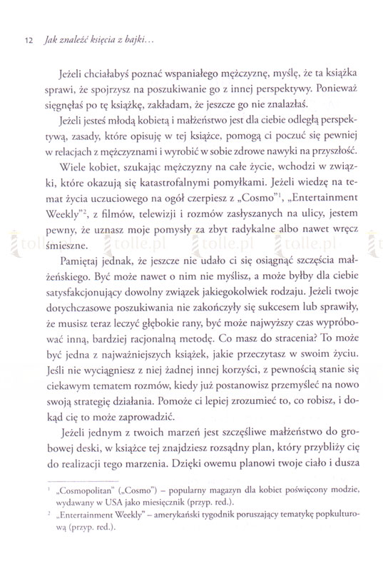 Jak znaleźć księcia z bajki w stawie pełnym ropuchów? - Klub Książki Tolle.pl