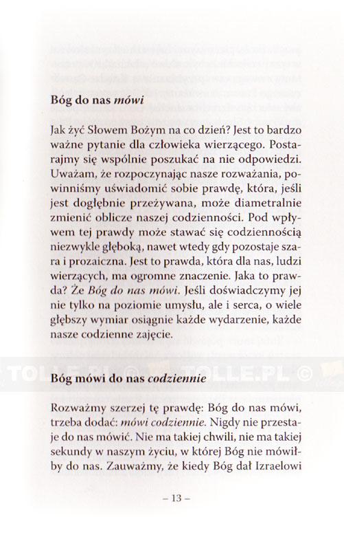 Jak żyć Słowem Bożym na co dzień? - Klub Książki Tolle.pl