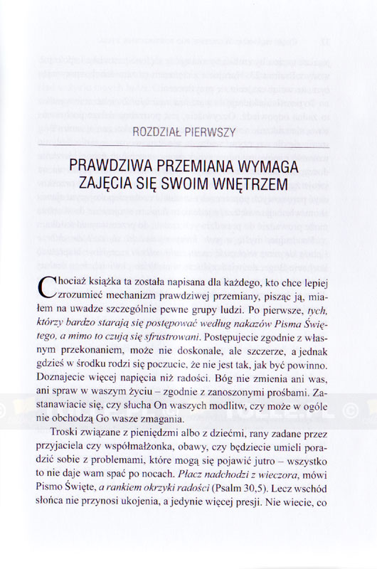 Jeśli chcesz zmiany, zacznij od swojego wnętrza - Klub Książki Tolle.pl