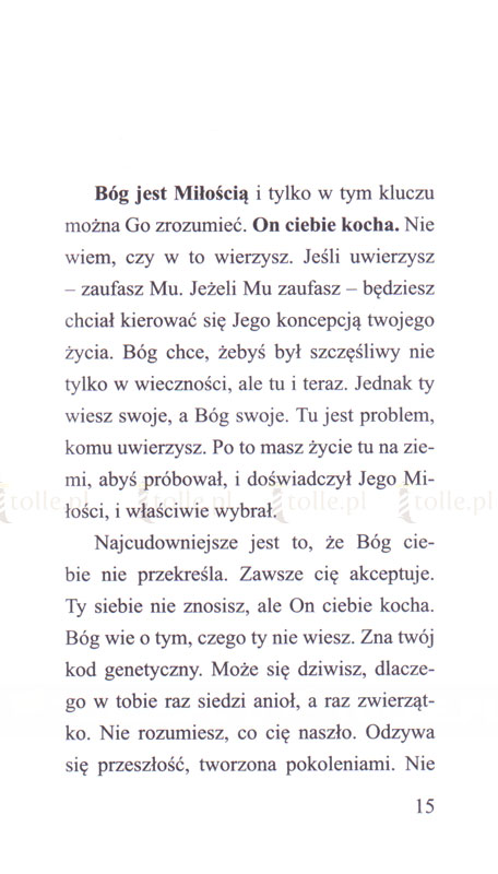 Nie bój się, jest Miłość - Klub Książki Tolle.pl