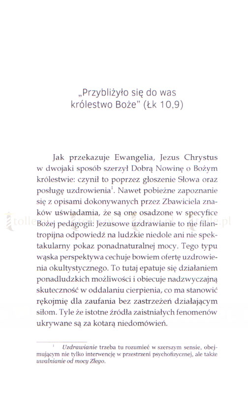 Jezus leczy dzisiaj. Świadectwa - Klub Książki Tolle.pl