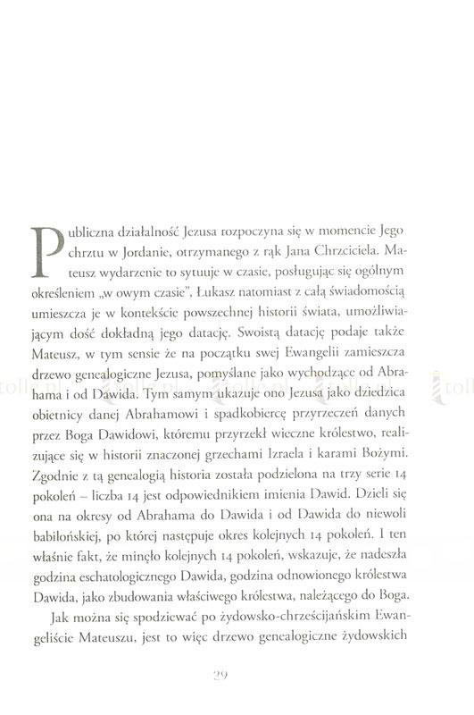 Jezus z Nazaretu. Od Chrztu w Jordanie do Przemienienia - Klub Książki Tolle.pl