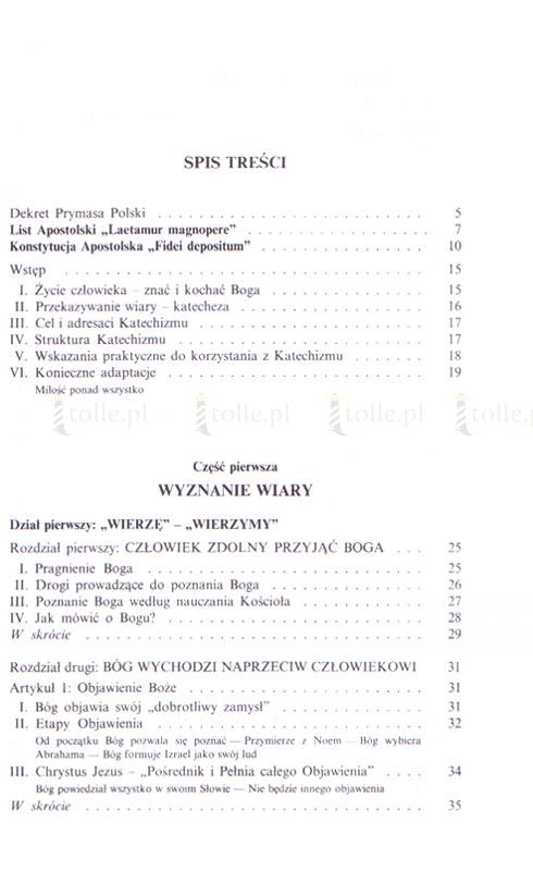 Katechizm Kościoła Katolickiego - Klub Książki Tolle.pl