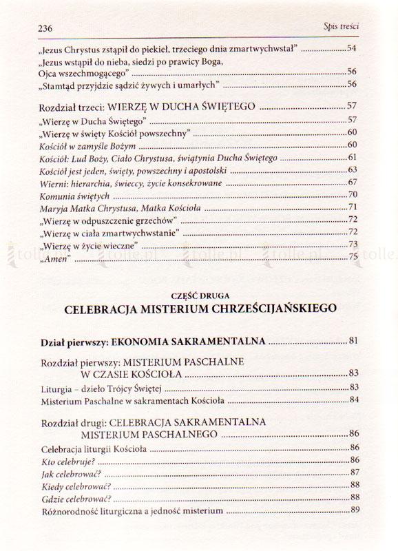 Kompendium Katechizmu Kościoła Katolickiego - Klub Książki Tolle.pl