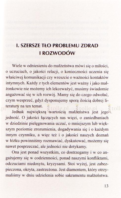 Małżeństwo na krawędzi - jak ustrzec się zdrady i rozwodu - Klub Książki Tolle.pl