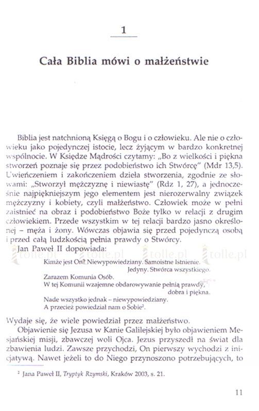 Małżeństwo - tajemnica wielka - Klub Książki Tolle.pl