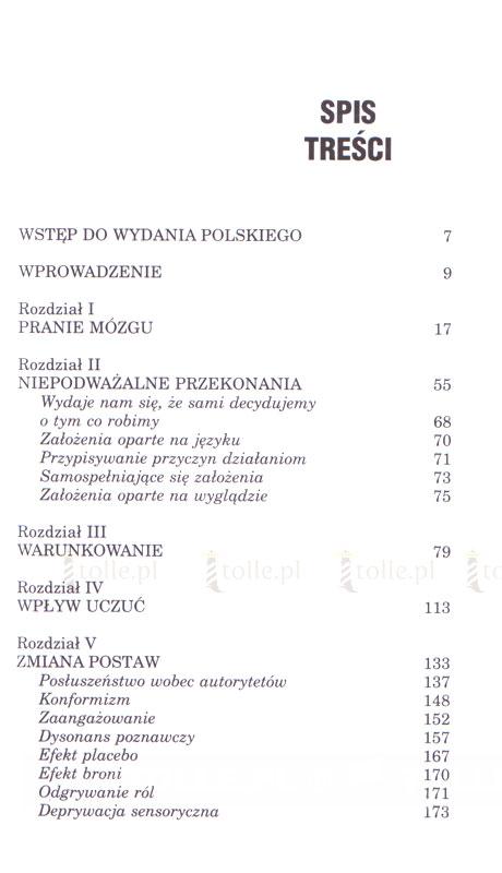 Manipulowanie umysłem - Klub Książki Tolle.pl