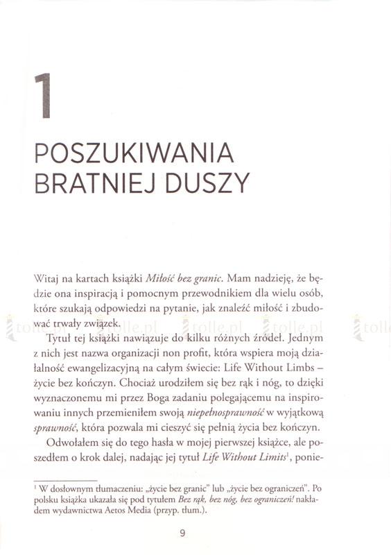 Miłość bez granic. Niezwykła historia miłości, która pokonuje wszelkie przeszkody - Klub Książki Tolle.pl