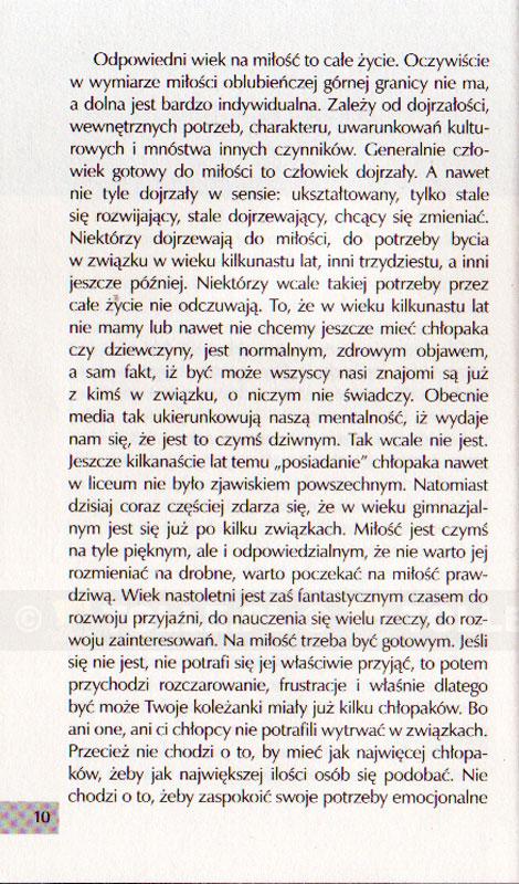 Miłość czy MIŁOŚĆ? Czyli sztuka chodzenia ze sobą - Klub Książki Tolle.pl