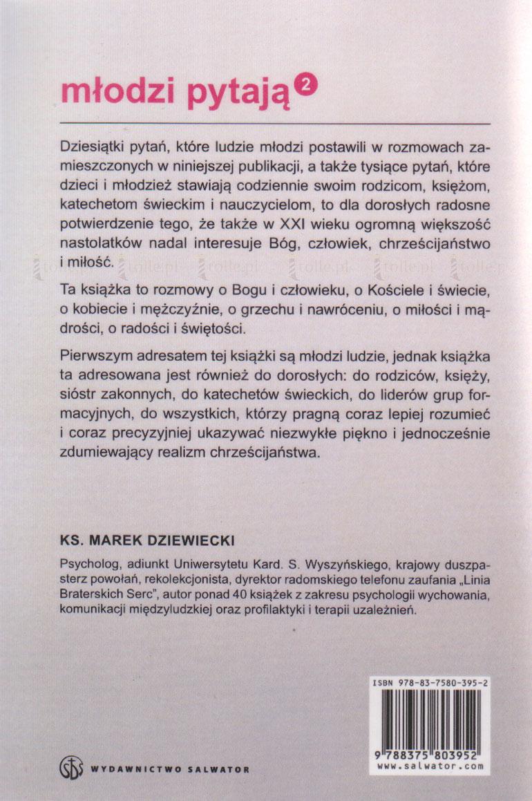 Młodzi pytają o Boga, człowieka i chrześcijaństwo - Klub Książki Tolle.pl