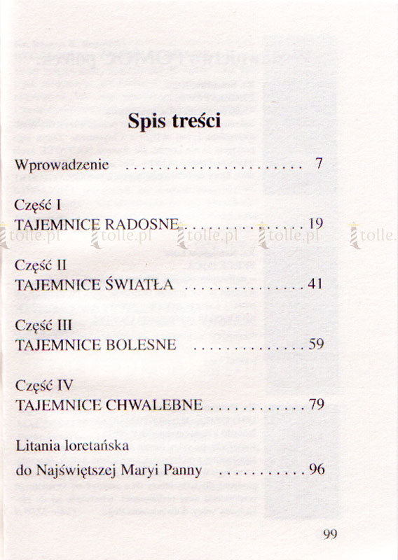 Modlitwa różańcowa dla rodzin - Klub Książki Tolle.pl