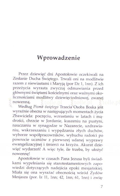 Niech zstąpi Duch Twój. Nowenna do Ducha Świętego - Klub Książki Tolle.pl