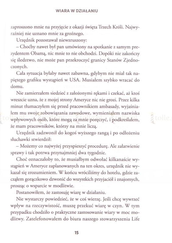 Niezwyciężony! Potęga wiary w działaniu - Klub Książki Tolle.pl