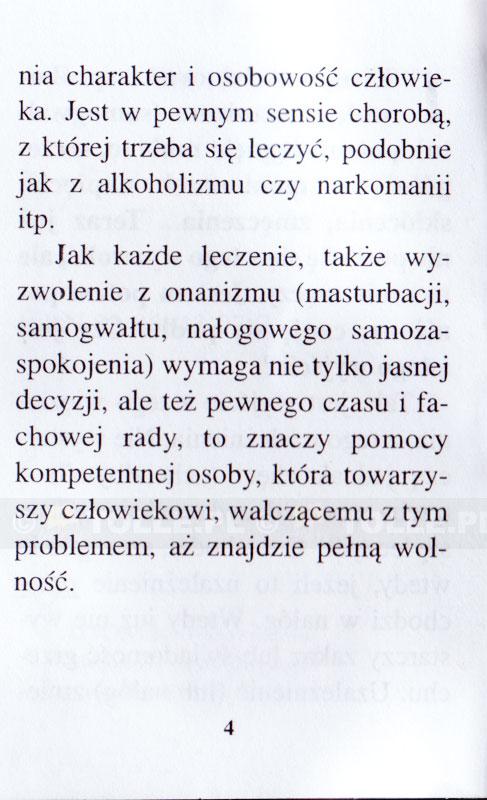 Onanizm - jak się z tego uwolnić? - Klub Książki Tolle.pl