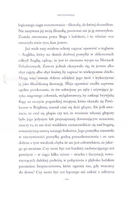 Ortodoksja - Klub Książki Tolle.pl