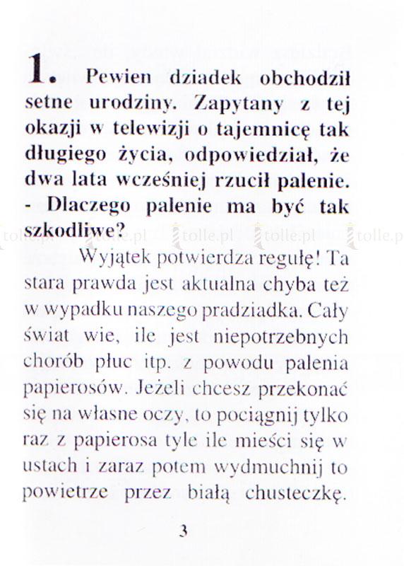 Palenie - czy to grzech? - Klub Książki Tolle.pl