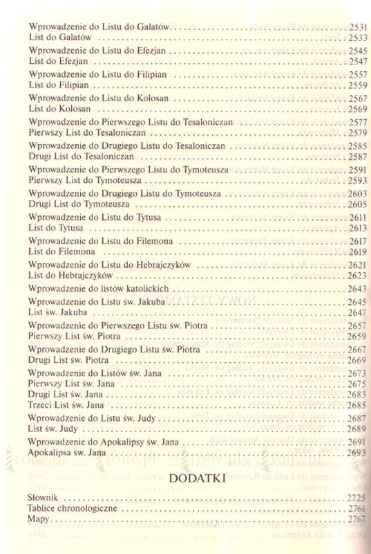 Pismo Święte Starego i Nowego Testamentu - Klub Książki Tolle.pl