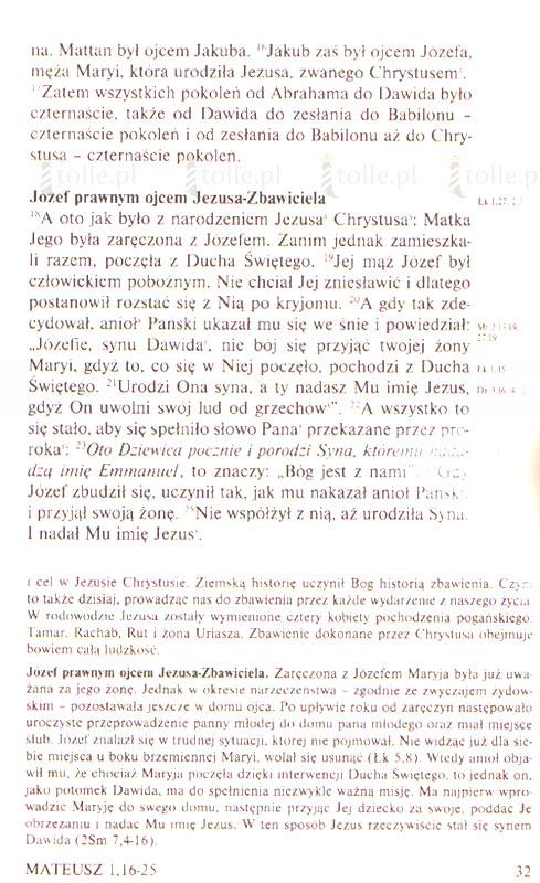 Nowy Testament - Klub Książki Tolle.pl