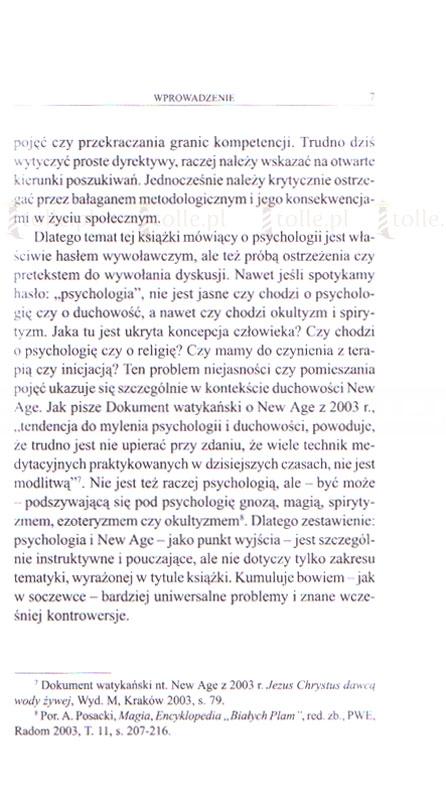 Psychologia i New Age - Klub Książki Tolle.pl