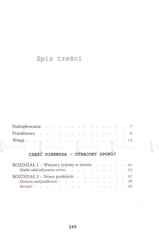 Równowaga. Jak stać się bardziej opanowanym, spokojnym i szczęśliwym w 14 dni - Klub Książki Tolle.pl