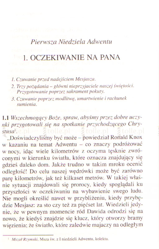 Rozmowy z Bogiem. Tom I: Adwent i Boże Narodzenie  - Klub Książki Tolle.pl