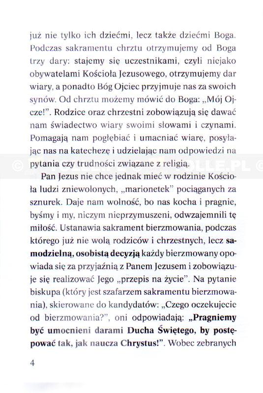 Sakrament bierzmowania czyli Duch Święty rozdaje prezenty. List do młodzieży - Klub Książki Tolle.pl