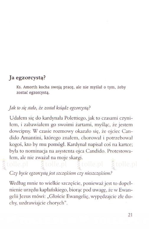 Świadectwo egzorcysty. Wywiad z ks. Gabrielem Amorthem, światowej sławy egzorcystą - Klub Książki Tolle.pl