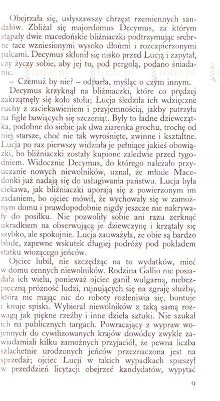 Szata - Klub Książki Tolle.pl