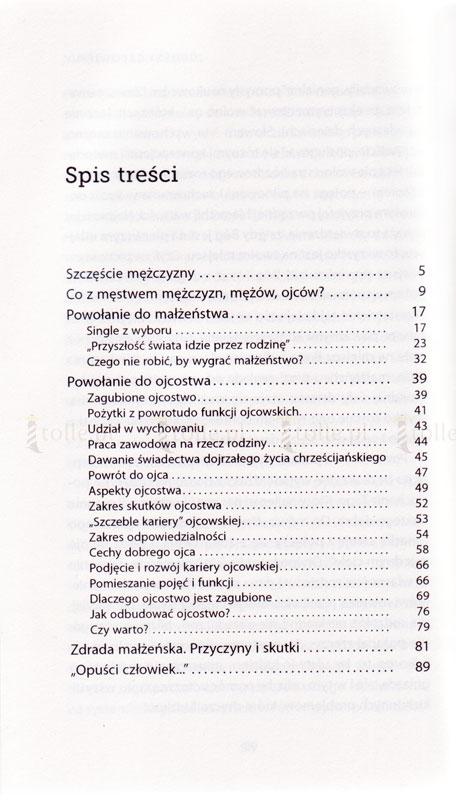 Szczęscie mężczyzny - Klub Książki Tolle.pl