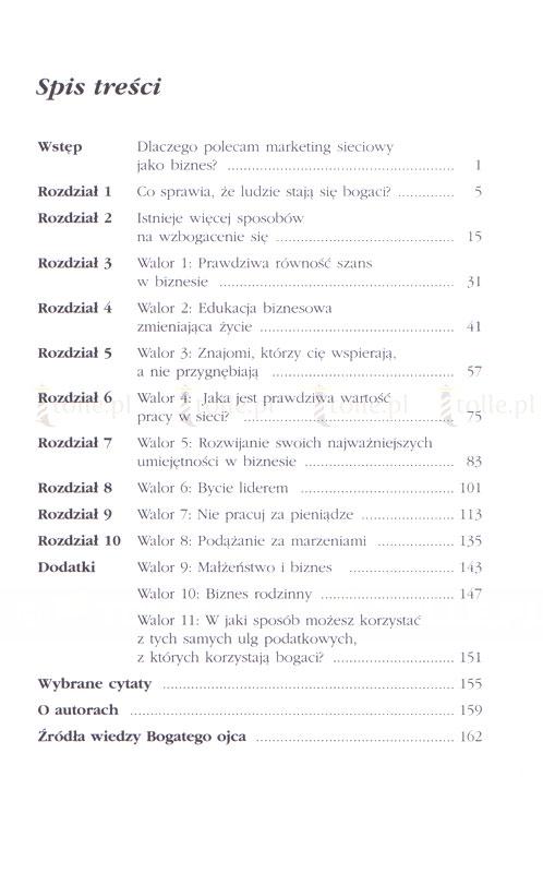 Szkoła biznesu. Seria: Bogaty ojciec - Klub Książki Tolle.pl