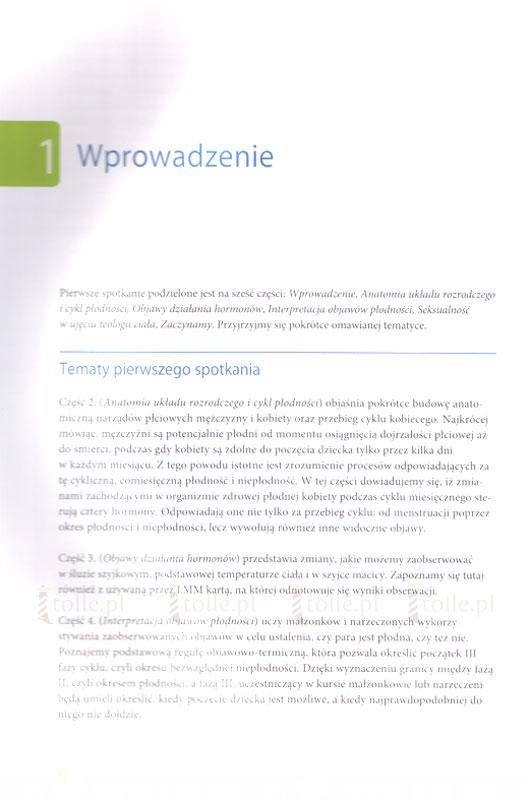 Sztuka naturalnego planowania rodziny. Kurs podstawowy - Klub Książki Tolle.pl