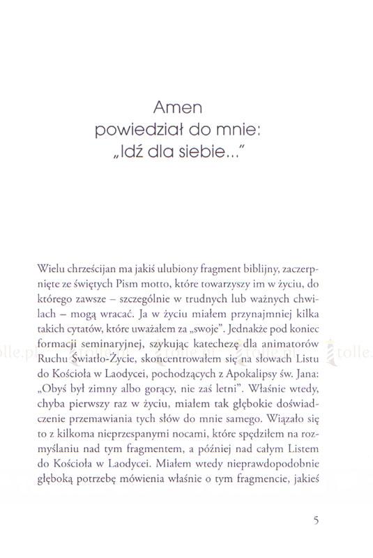 To mówi Amen. Spotkanie z Chrystusem Apokalipsy - Klub Książki Tolle.pl